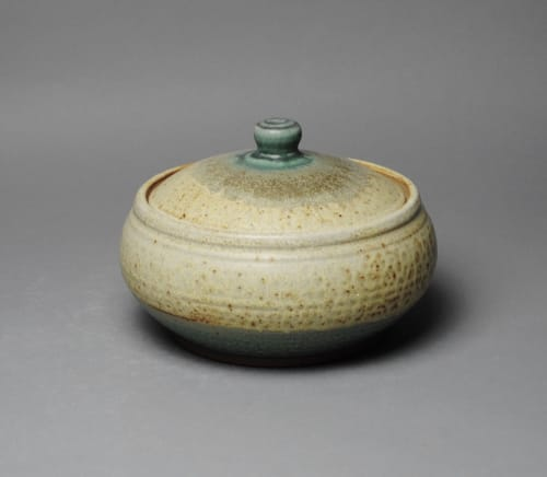 Tableware by John McCoy Pottery seen at Private Residence, York - Covered Casserole