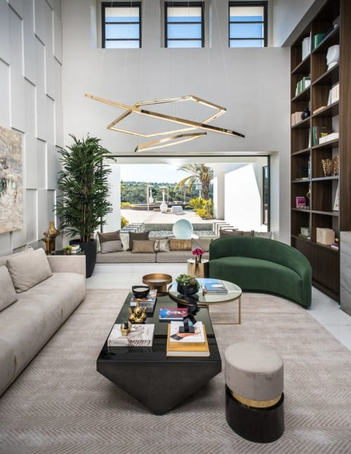 Interior Design by 2id Interiors seen at Private Residence, San Diego - San Diego
