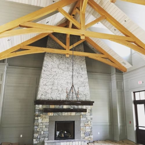 Interior Design by Timber Artisans LLC seen at Private Residence, Charleston - Carnes Crossroads Clubhouse