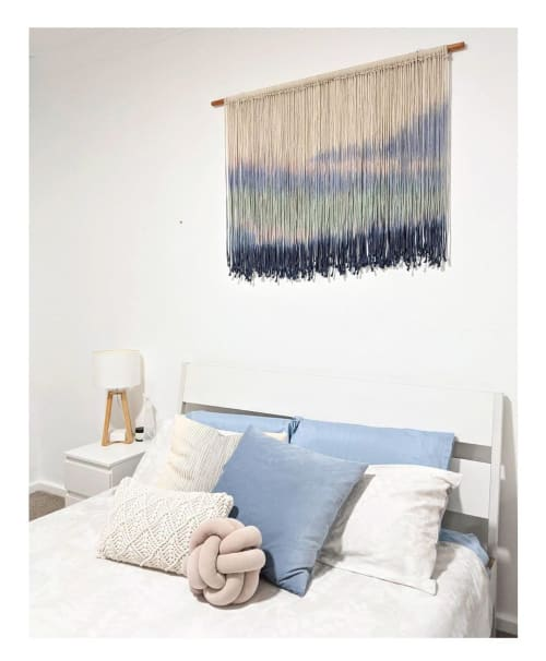 Wall Hangings by Creating Knots by Mandy Chapman seen at Private Residence, Tuart Hill - Custom Wall Art