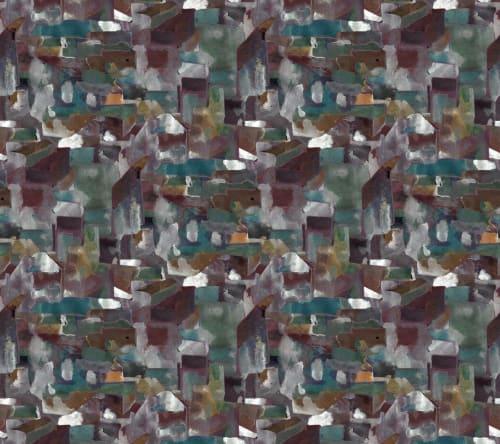 Wallpaper by Eskayel at Private Residence, New York - Medina - Tesoro Wallpaper