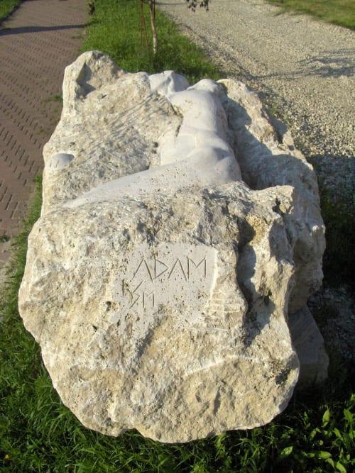 Public Sculptures by Linda-Saskia Menczel seen at Foundation Interart Triade, Timișoara - Adam