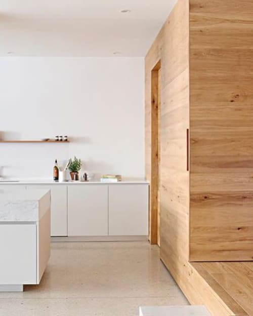 Interior Design by Lucy Clemenger Architects seen at Private Residence, South Yarra - Residential Project