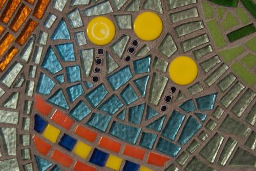 Public Mosaics by Connie Chantilis seen at Ronald McDonald House of Dallas, Dallas - Public Art