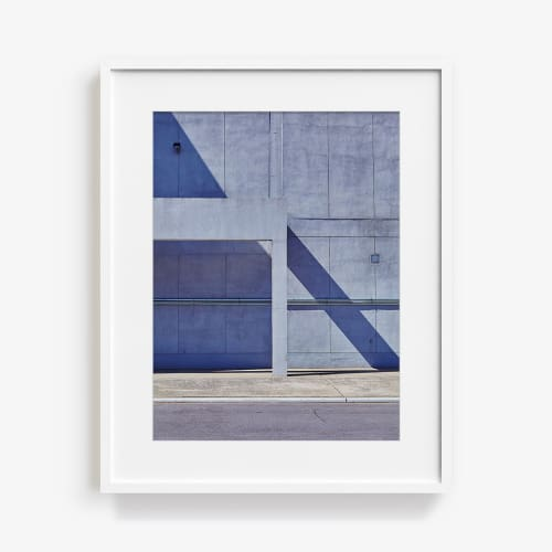 Photography by James Needham seen at Private Residence, Los Angeles - Astoria Wall Blue