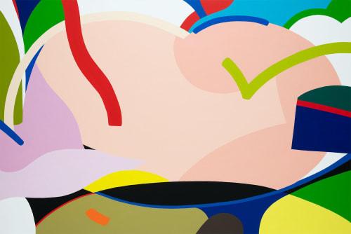 Paintings by Kotaro Machiyama seen at Creator's Studio, Tokyo - Power