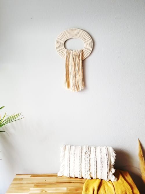 Macrame Wall Hanging by YASHI DESIGNS seen at Private Residence, Atlantic Beach - The Crest