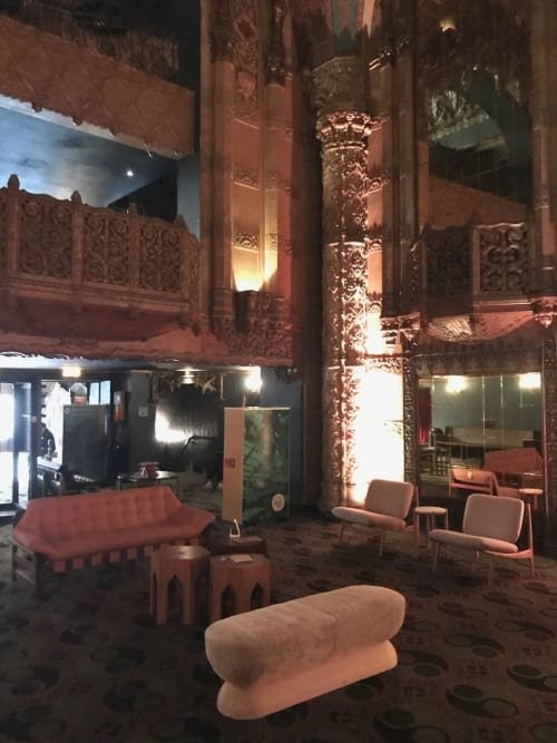 Benches & Ottomans by Cuff Studio seen at Indie Congress, Ace Hotel Theater DTLA 2019, Los Angeles - U Bench