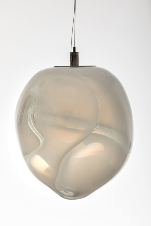 Lamps by Berlin Art Glas GmbH seen at Berlin - ANALOG ,Of Movement and Material' Series