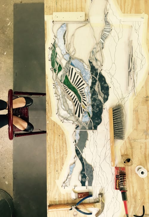 Interior Design by Soda Ash & Sand seen at Private Residence, Chattanooga - Soda Ash & Sand