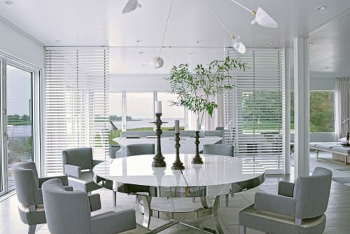 Chairs by VW Home by Vicente Wolf seen at Private Residence, Water Mill, Water Mill - Chair