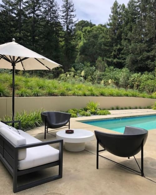 Chairs by Galanter & Jones seen at Private Residence, Orinda - Kosmos Chair