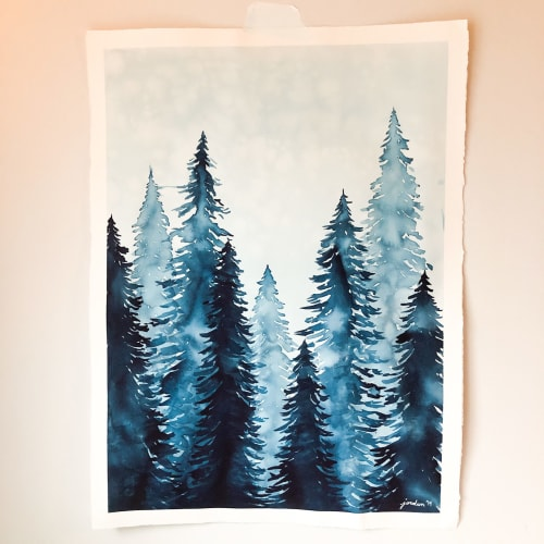 """Paintings by Jordan McDowell 
