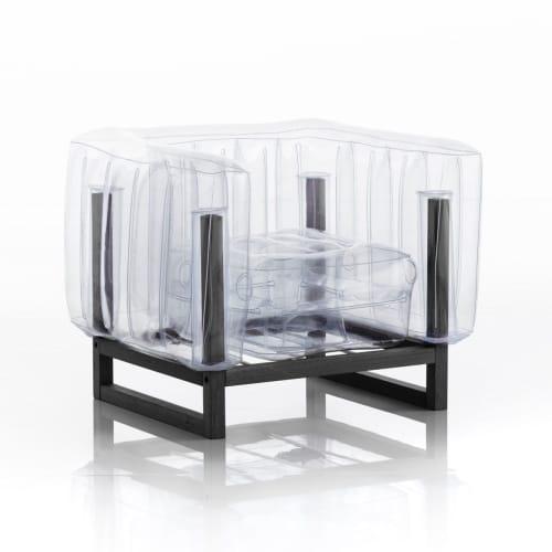 EKO YOMI WOOD / BLACK WOOD ARMCHAIR   Chairs by MOJOW