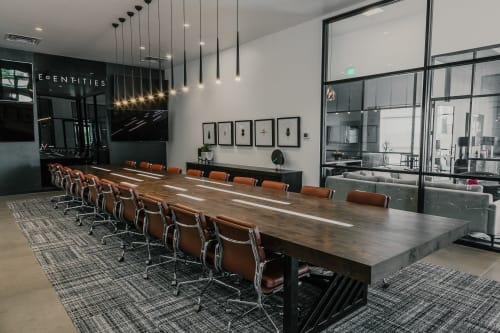 Tables by Project Sunday at Edge | The Service Company, Orem - Edge Conference Table
