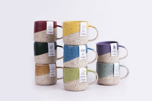 Cups by MADRIGUERA WORKSHOP seen at Private Residence - MUG