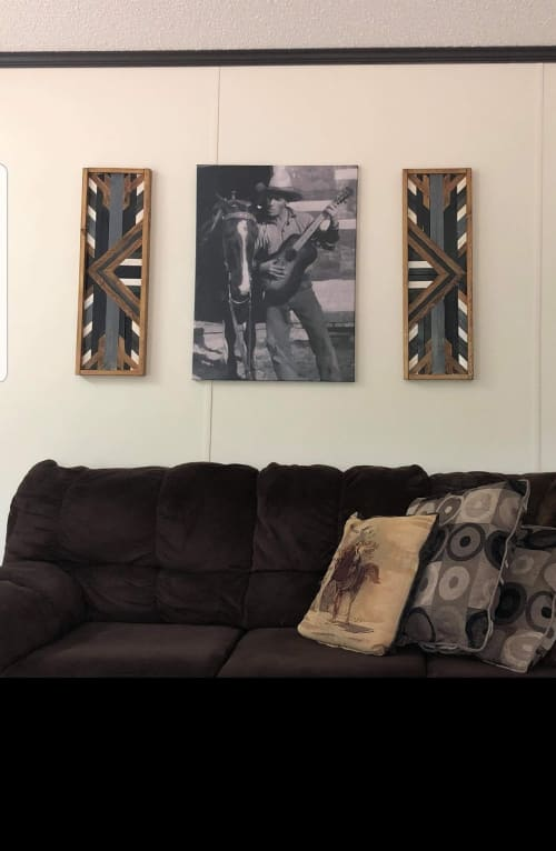 Art & Wall Decor by Blind Creek Craft Co. seen at Private Residence, Edmonton - Railroad