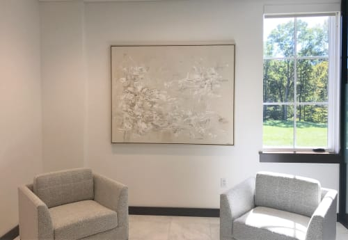 Interior Design by Art Solutions - Art Consulting Services for Financial Institute