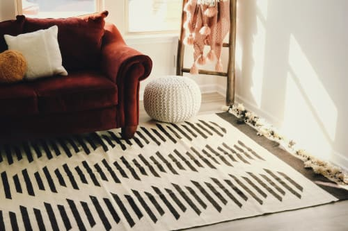 Rugs by Qadimi seen at Private Residence, Raleigh - Wanderer Afghan Persian Rug