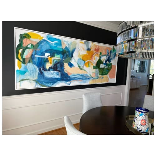 Paintings by Kevan Joseph O'Connor  |  Kevan Joseph Art seen at Private Residence, Franklin - Pull Me To Courage