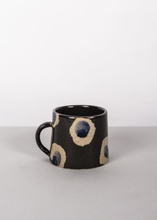 Cups by Ali Hewson seen at London, London - Cobalt Dash Cup