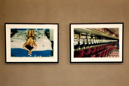 """Photography by Richard Heeps seen at Hotel nhow Milano, Milano - Delilah 'Red Right Hand III', """"The Whoopee Club"""" London 2003"""
