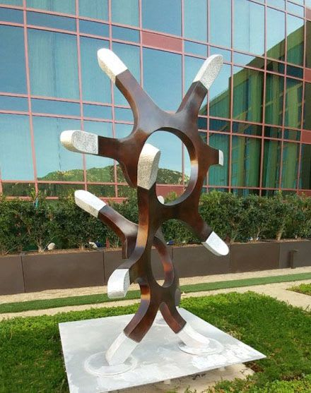 Public Sculptures by Hansel3D, LLC seen at Temecula, Temecula - Pechanga Innerchange
