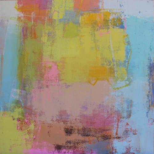 Paintings by Valerie McMullen seen at Allison Sprock Fine Art, Charlotte - Salt Water Taffy