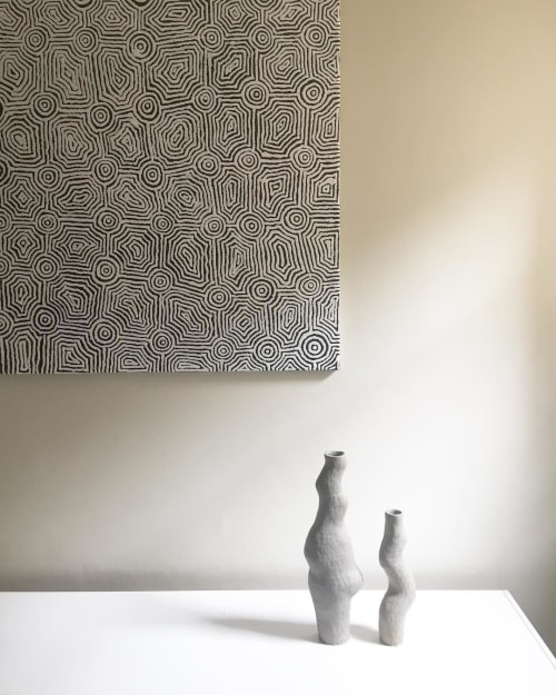 Vases & Vessels by Kerryn Levy Ceramics seen at Private Residence, Adelaide - Spooning vessels