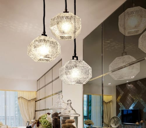 Pendants by Contardi Lighting seen at Private Residence - Treasure