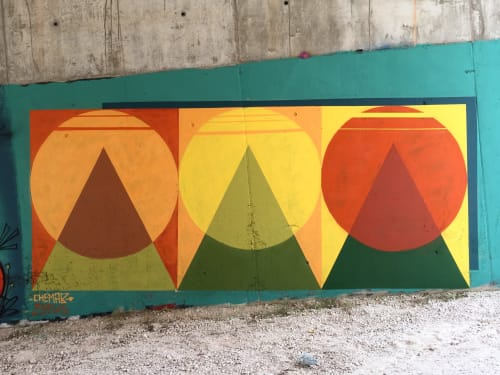 Street Murals by Chema-b* (Chemapiko) seen at Castellfollit del Boix, Castellfollit del Boix - Trespicostresoles.