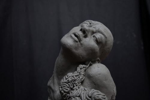 Ange Schmiert - Sculptures and Wallpaper