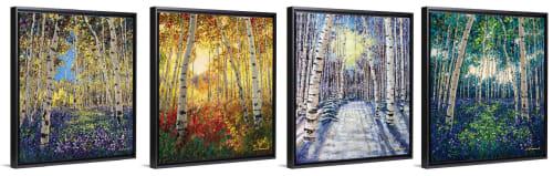 Jennifer Vranes Fine Art - Paintings and Art