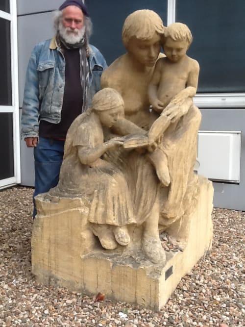Sculptures by John Fisher Sculptures seen at Roanne, Roanne - La Lession