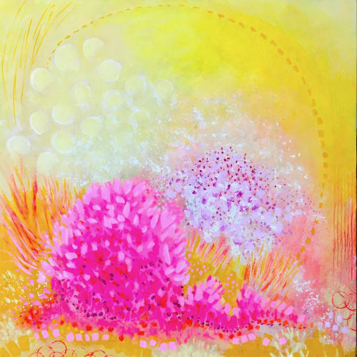 Paintings by Julea Boswell Art Studio seen at Private Residence, Ottawa - Once Summer Comes