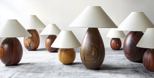 Lamps by l'aviva home seen at Private Residence, New York - Árbol Table Lamps Collection