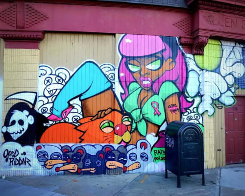 Merk Aveli - Murals and Street Murals