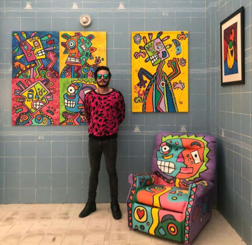 Pablo Benlliure - Paintings and Street Murals