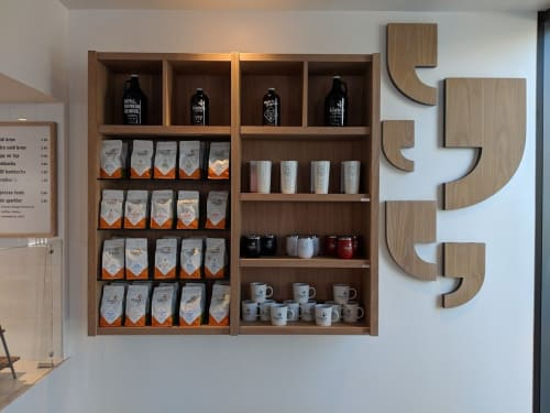 Klatch Coffee Franklin, Cafès, Interior Design