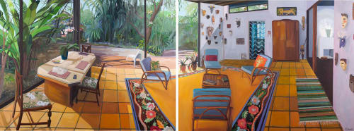 Rachel Campbell Painting - Paintings and Murals