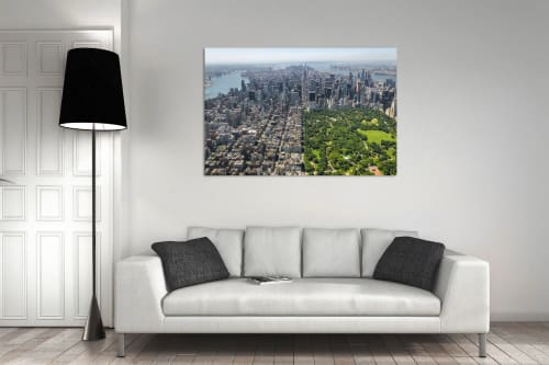 Photography by Richard Silver Photo seen at Private Residence, New York - Central Park by Helicopter
