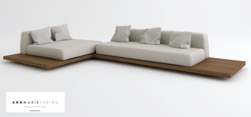 Ann Marie Vering - Benches & Ottomans and Chairs