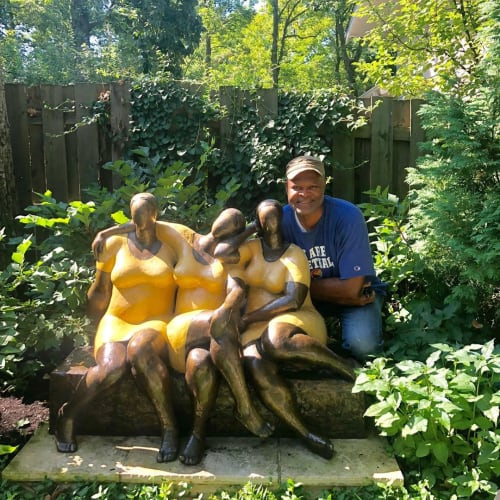 Sculptures by Nnamdi Okonkwo seen at Private Residence, Chicago - Friends