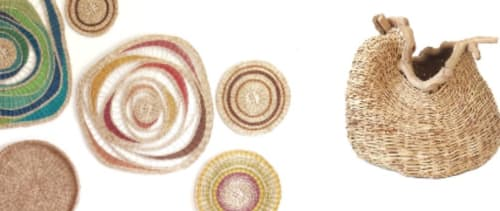 Israel-Basketry - Wall Hangings and Sculptures