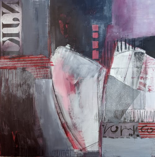 Elephant in the Room | Paintings by Jillian Goldberg