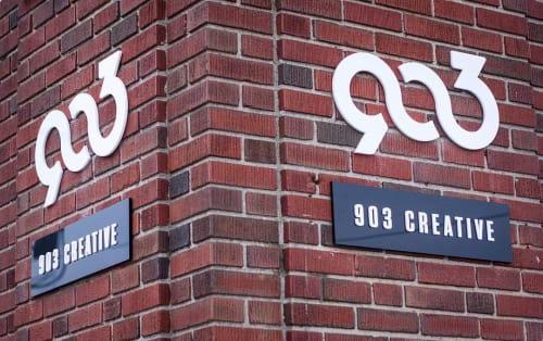 Signage by Kugo Laser LLC at 903 Creative, LLC, Richmond - 903 Creative Logo