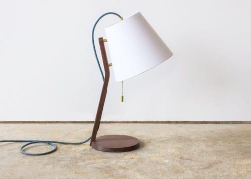 Lamps by Leah K.S. Amick seen at Leah K.S. Amick Studio, Portland - Elate