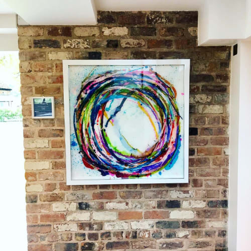 Paintings by Joseph J Walker Art seen at Moor Hall Restaurant with Rooms, Aughton - Imagine