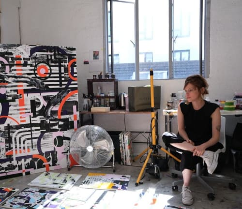 Michal Raz - Paintings and Wall Hangings