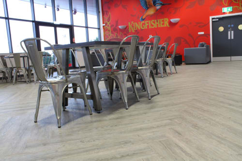 Interior Design by Warner Contract Furniture seen at Robin Retail Park, Wigan - Wigan Warriors Robin Park Arena - Warner Contracts